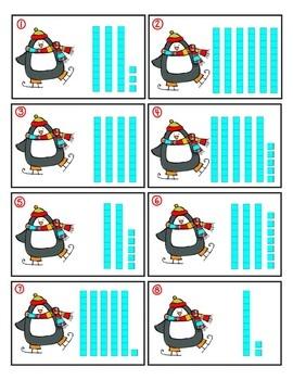 Penguins- Math Center Fun