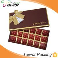 Source Fashion High Quality Packaging Box Manufacturer Chocolate Box Wholesale on m.alibaba.com
