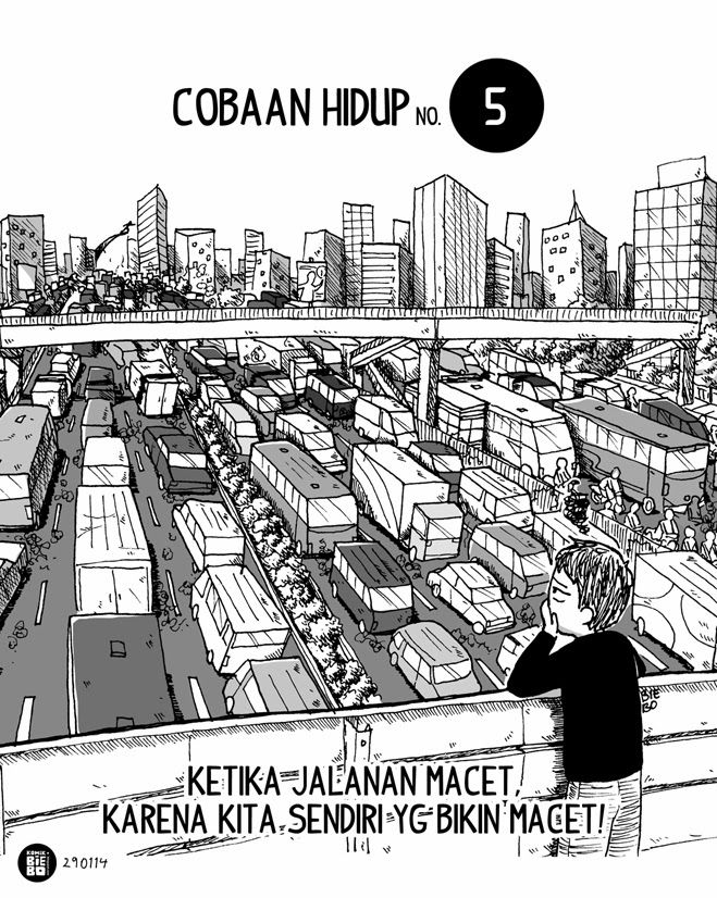 Komik Biebo: Cobaan Hidup No. 5 by Komik Biebo