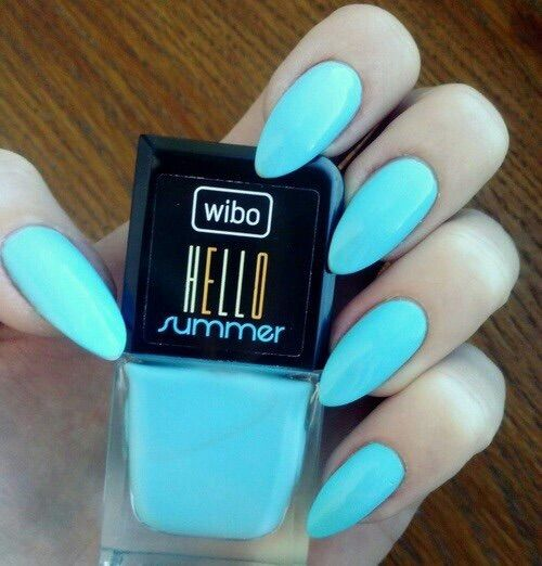 Neon Blue Nails | Best Nail Designs 2018