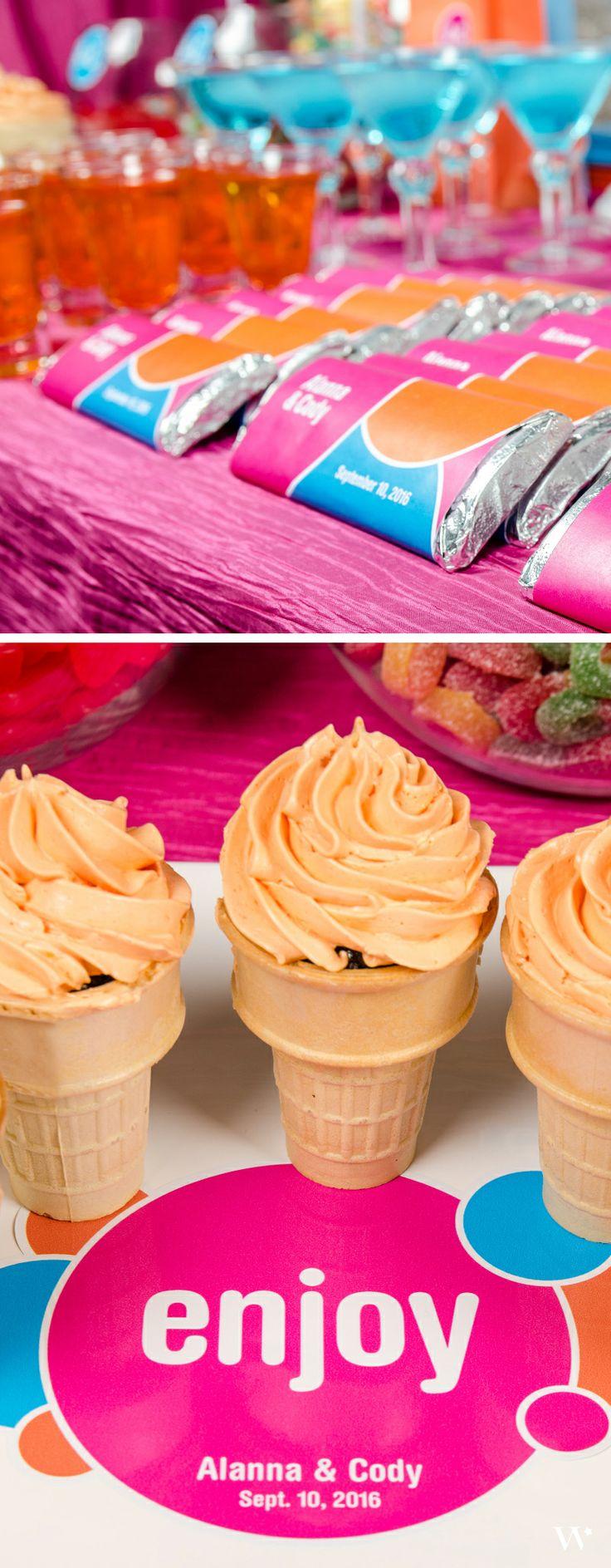 167 best Pink Weddings images on Pinterest | Pink weddings, Dessert ...
