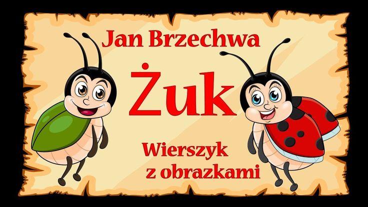 Żuk - Jan Brzechwa - wierszyk, bajka animacja dla dzieci