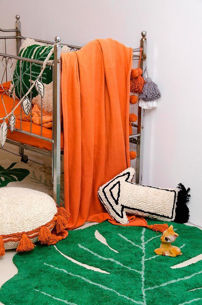 NEW Blanket Ombré Terracota #washablerugs #lorenacanals #blanket #ombre