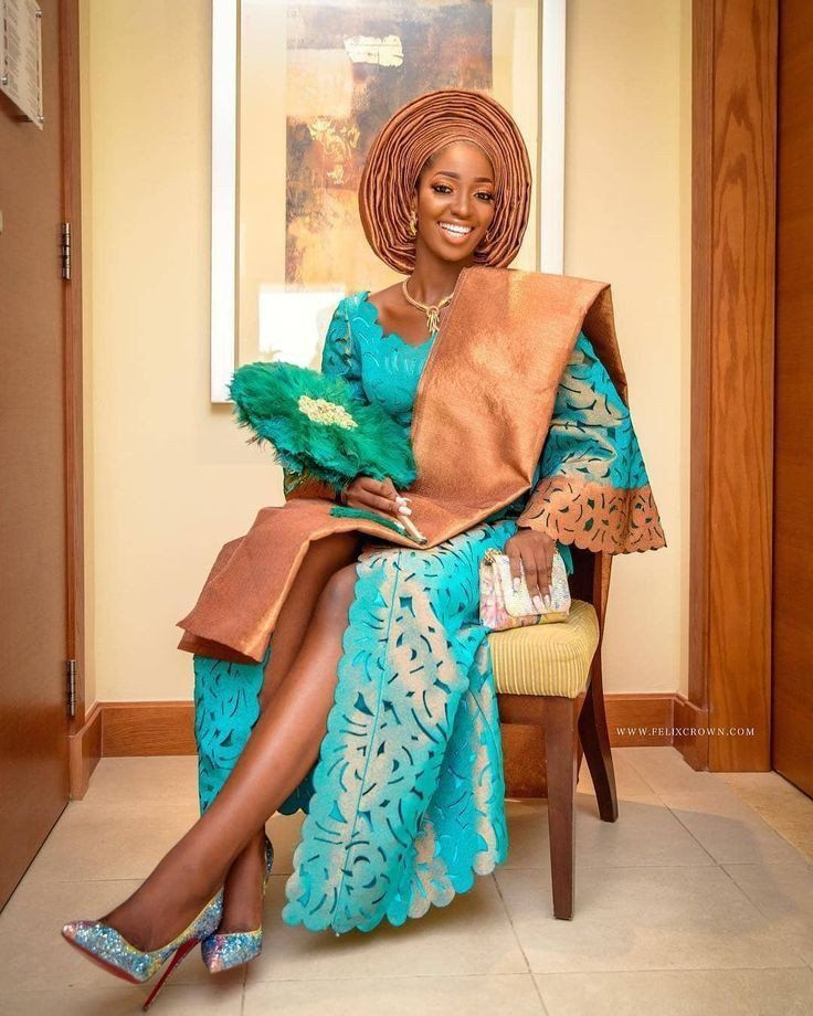Wedding Hairstyles In Nigeria 2019: Yoruba Traditional Wedding Attire For Brides