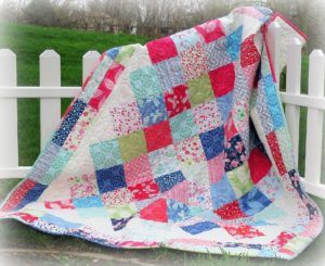 Picnic Party Quilt Pattern - Easy Baby Quilt Patterns