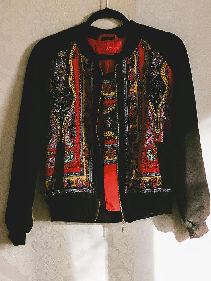 #floral #bomber #jacket #scarf #scarves #madeinpoland