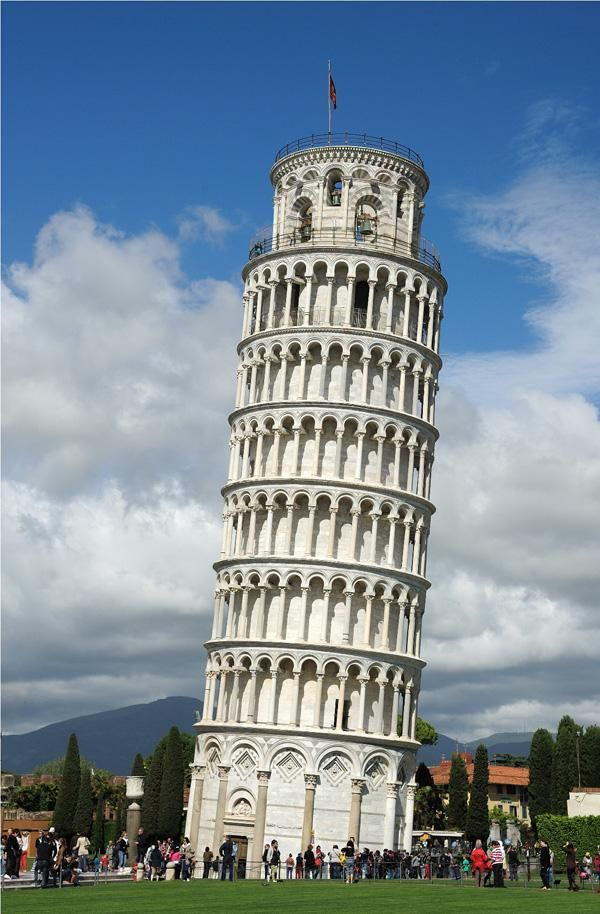 20 Examples Of Famous Architecture Of The World Cuded In 2021 Pisa Famous Architecture Leaning Tower Of Pisa
