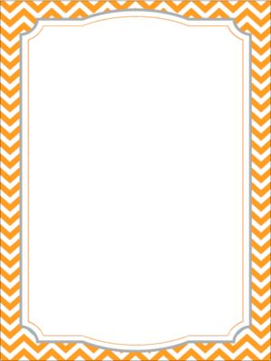 Chevron Borders From Learning Corner On Teachersnotebook
