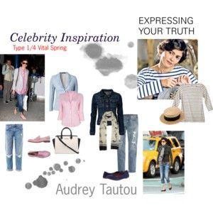 Celebrity Inspiration Audrey Tautou 1/4 vital spring. Love Audrey Tautou