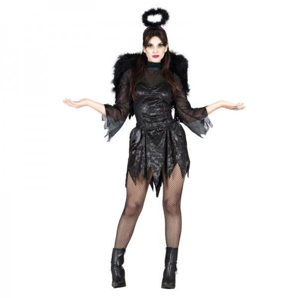 Disfraz Halloween mujer Angel caido