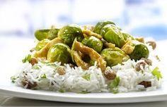 Recept voor Indiase spruitjes met basmatirijst | Vers van de Teler