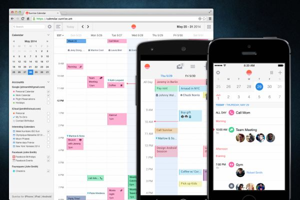 Sunrise Calendar: Get your semester organized with the Sunrise Calendar app, which recently made its way to the web and Android. Sunrise focuses on design first and syncs with different services like Google Calendar and also lets you connect other apps like Evernote to it.