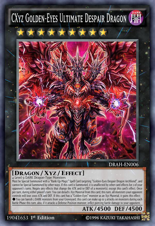 red eyes ultimate golden dragon