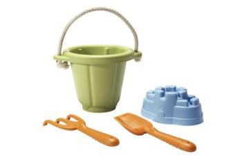 Sand Play Set 4PC. Build a castle. Dig for buried treasure.
