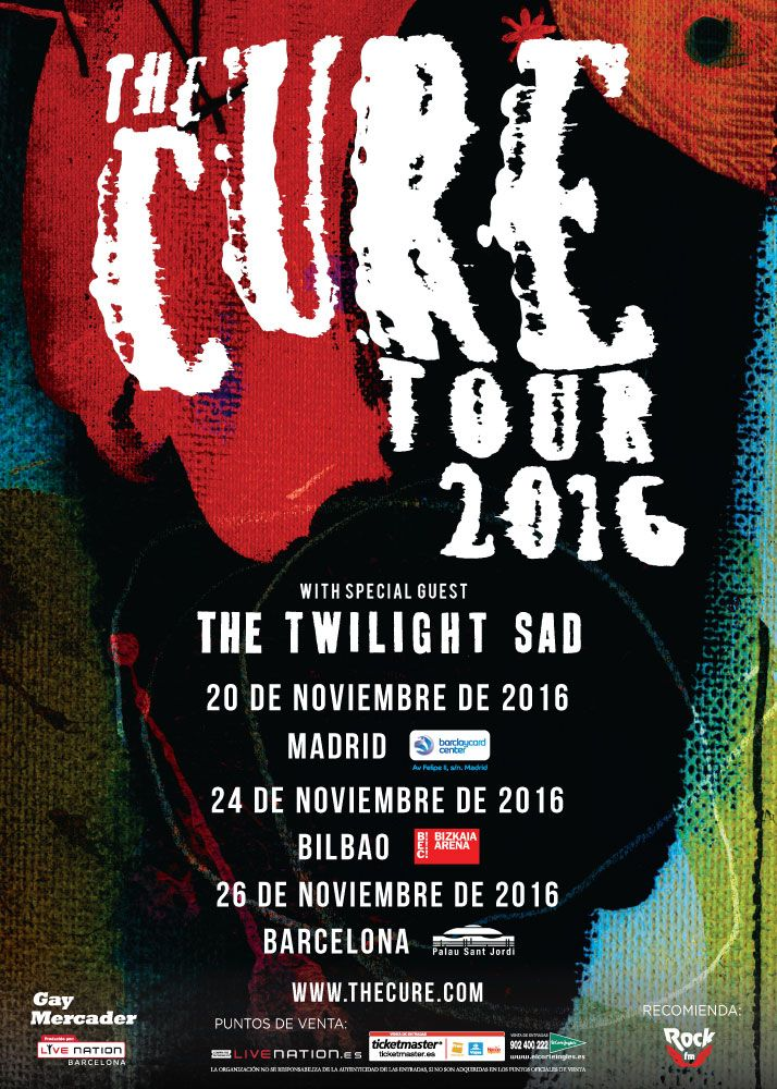 THE CURE, 2016