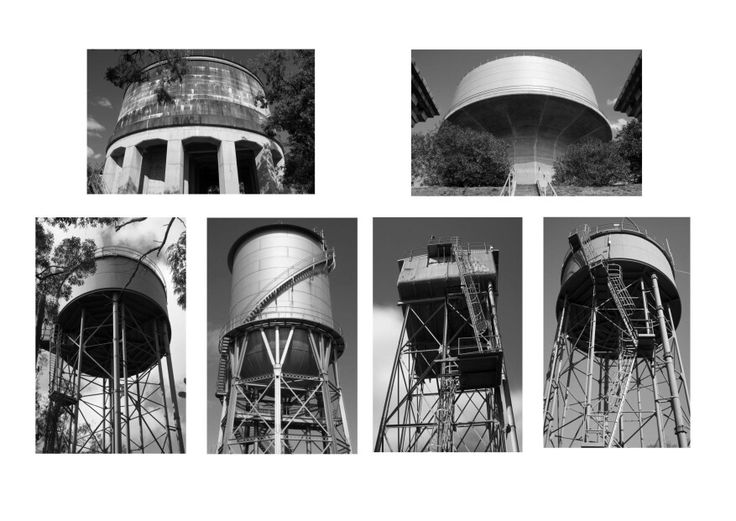 Composite Grid - Assignment 1; Water Towers Sydney