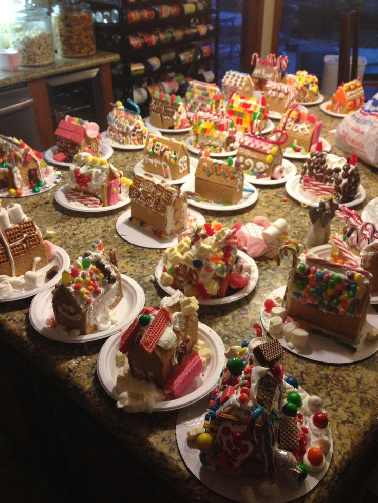 Best 25 Gingerbread House Parties Ideas On Pinterest