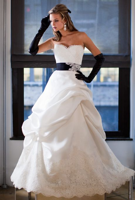 judd waddell wedding dresses. I love this dress idea with the pop of color.