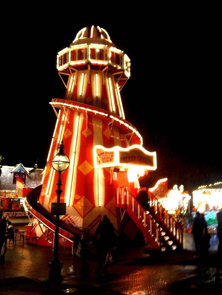 Helter Skelter Winter Wonderland - Hyde Park  London