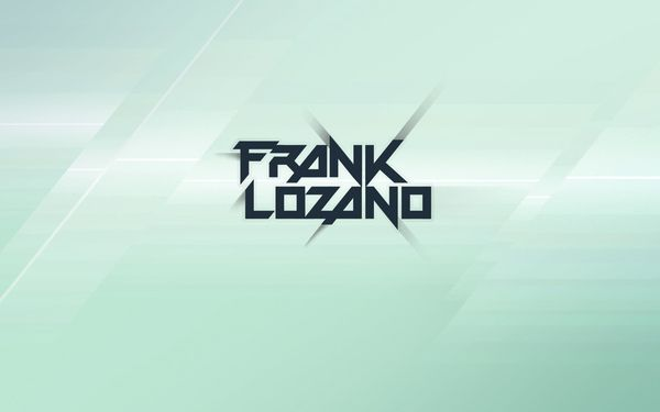 Frank Lozano is a breakbeat producer from Andalucia, my homeland.