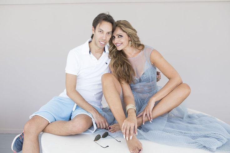 Γιώργος Πράσινος & Βίκυ Κουλιανού - www.mr-green.gr #topmodel