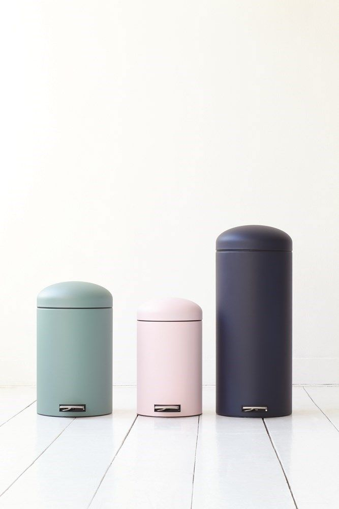 Brabantia Retro Bin Pedaalemmer Motion Control 30 liter - Dark B gadgets, kado's en originele cadeau