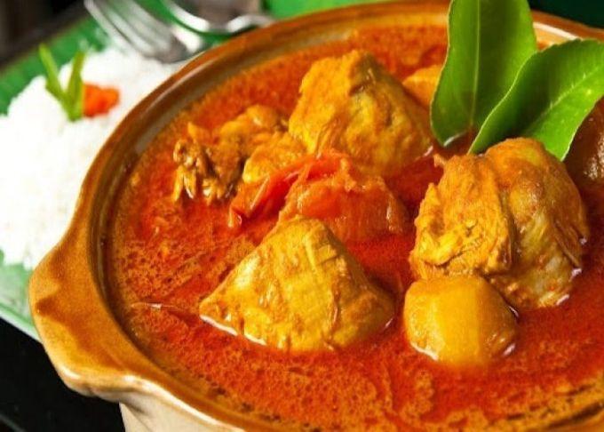 Opor Ayam Padang Resep Masakan Gulai Resep Ayam Kari