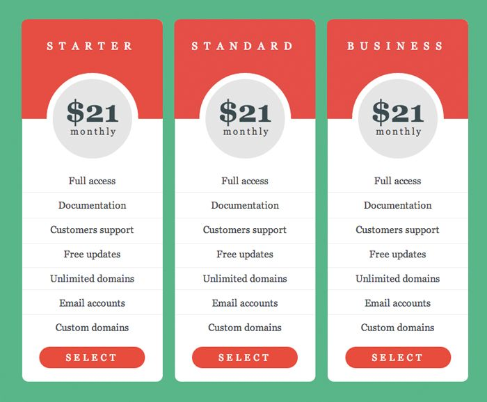 13 best Adobe Muse Pricing Tables images on Pinterest Adobe muse - the resumator