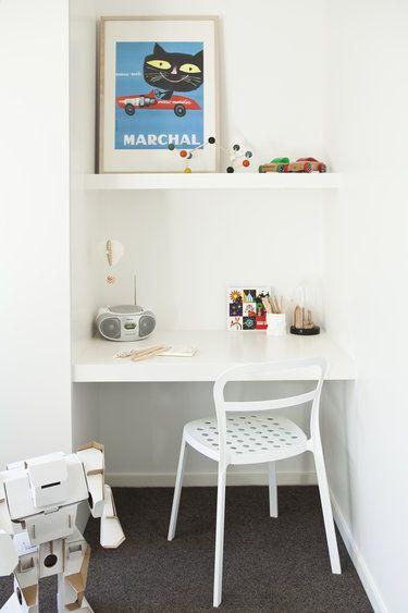 Study nook / Marchal print. Genesin Studio