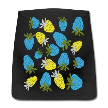 blaue erdbeeren,blue strawberries Bauchband für Schwangere   Spreadshirt   ID: 22987740