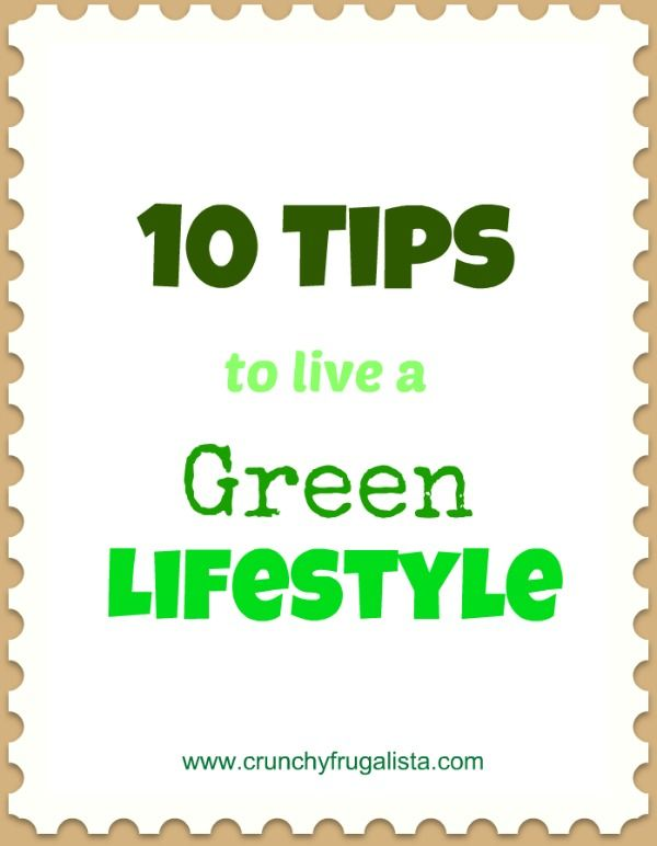 10 Tips to Living a More Green Lifestyle