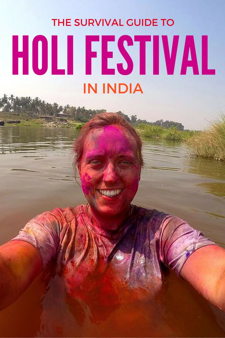 The survival guide to Holi Festival in India | Love Puffin Travel Blog
