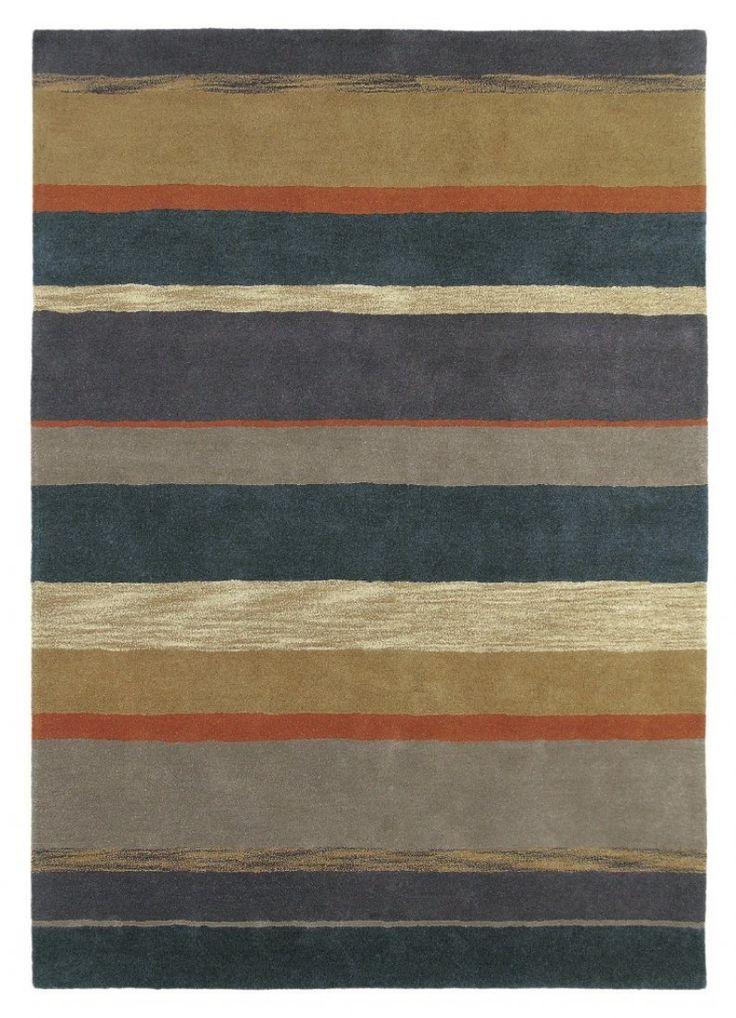 Ceylon - SANDERSON - Geel - moderne tapijten - ref. 45203  Prachtig handgetuft modern tapijt van Sanderson in het geel - charcoal/rust met als afmetingen '280 x 200 cm' (rechthoekig)  EUR 1135.00  Meer informatie