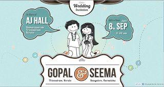 Contoh Undangan Pernikahan Unik Melalui Media Sosial3
