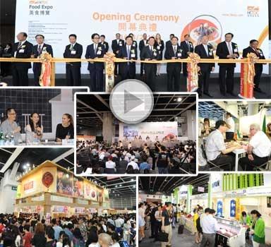 Hong Kong Food Expo. Kæmp fødevaremesse, hvor foodies fra hele verden møder op for at smage og opleve mad-trends fra hele verden. Ikke en del af et netværk. Målgruppe: DGL og Golfe. Vurdering: 3/5.