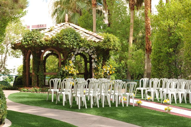 The Gazebo #Wedding Chapel at Flamingo Hotel & Casino Las #Vegas