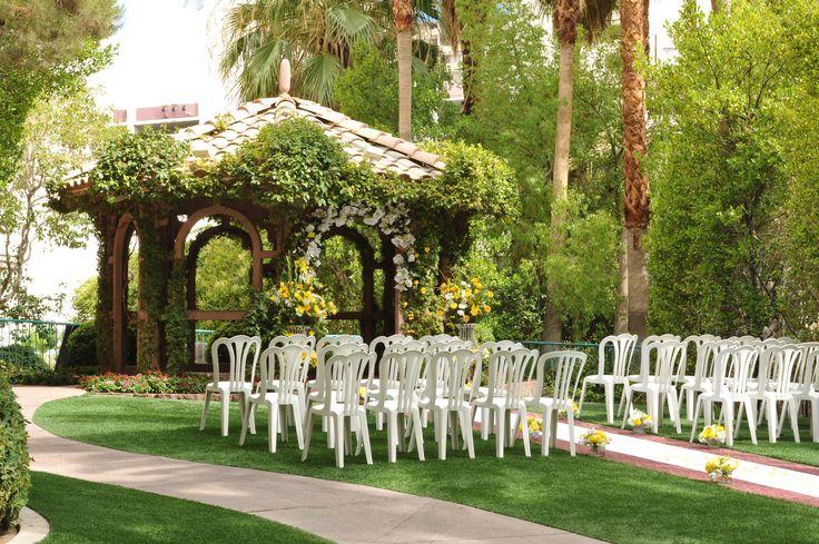 The Gazebo Wedding Chapel At Flamingo Hotel Amp Casino Las Vegas