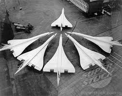 Concordes at Heathrow. I know it's not military but it's still cool