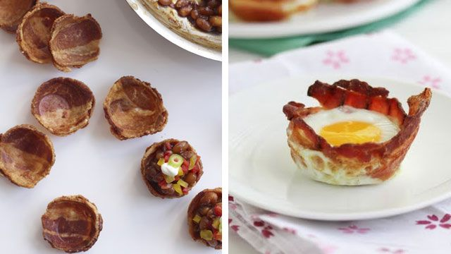 More bacon cups.