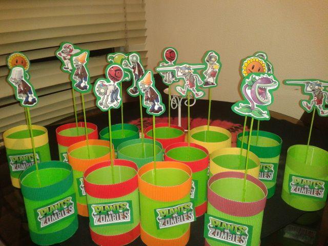sorpresas cumpleaños Plantas v/s Zombies