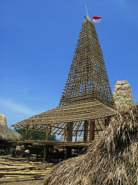 Traditional Sumba House