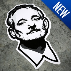 Bill Fucking Murray Sticker from @thechive!! YESSSS