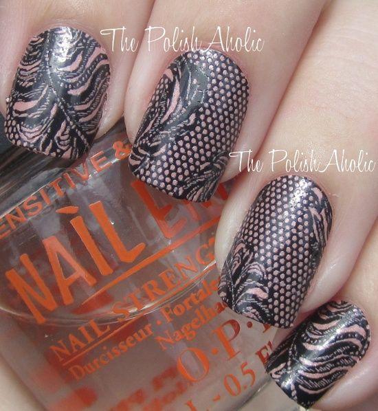 Lace Nail Art Designs...