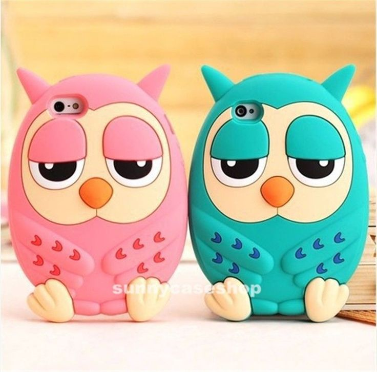 3D Cute Cartoon Pink Owl Soft Silicone Case cover for Apple iphone5s 5g 4S 4G Cell Phones & Accessories - Cell Phone, Cases & Covers - http://amzn.to/2jXZVL6