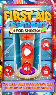 First Aid Treatment For Shock #kidsgame ...Get this learning game to teach children stay away from electricity as well as how to give treatment after getting shocked...