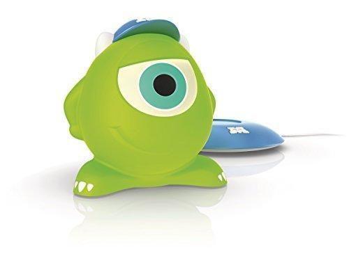 Oferta: 25.99€ Dto: -35%. Comprar Ofertas de Philips Disney Mike Monstruos, S.A. - Peluche luminoso, con base de carga, luz blanca cálida, bombilla LED de 0,18 W, color v barato. ¡Mira las ofertas!