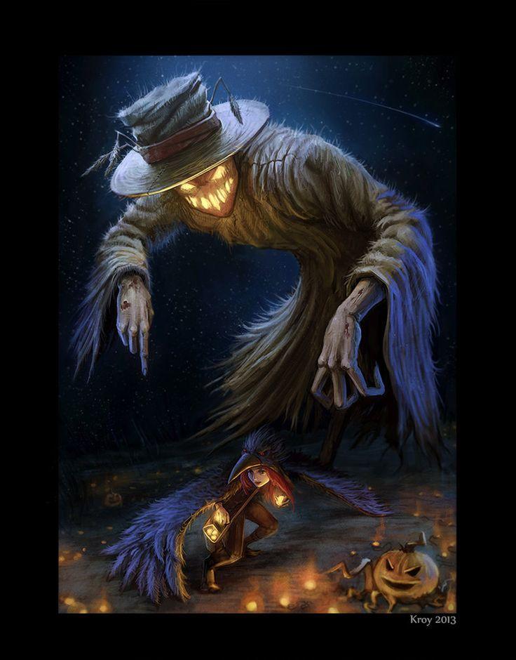 Scarecrow art | scarecrow by ~Kroy111 on deviantART