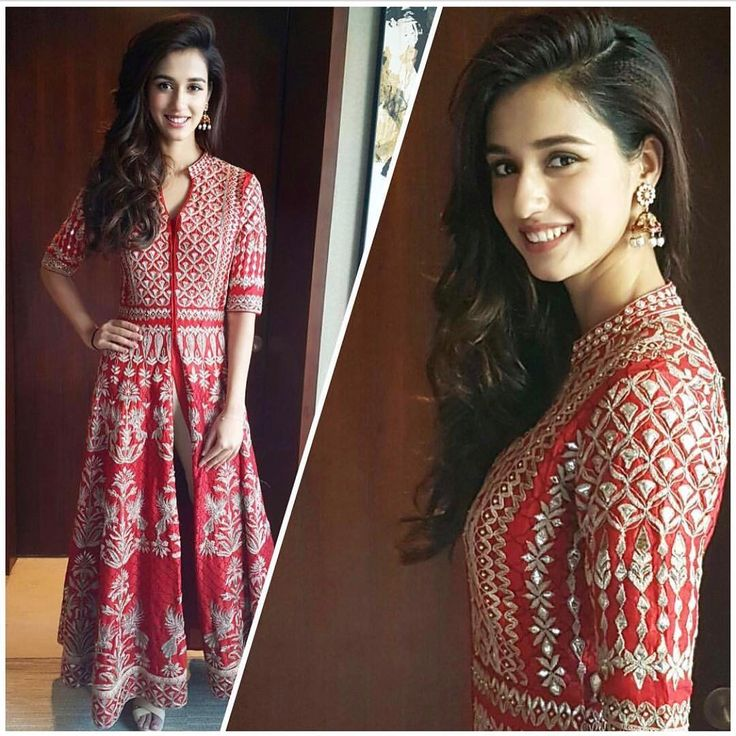 Disha in Anita Dongre red creations .. styled by Leepakshi