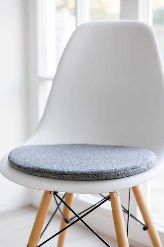 Sitzauflage in hellgrau passend für Eames Chair limitiert