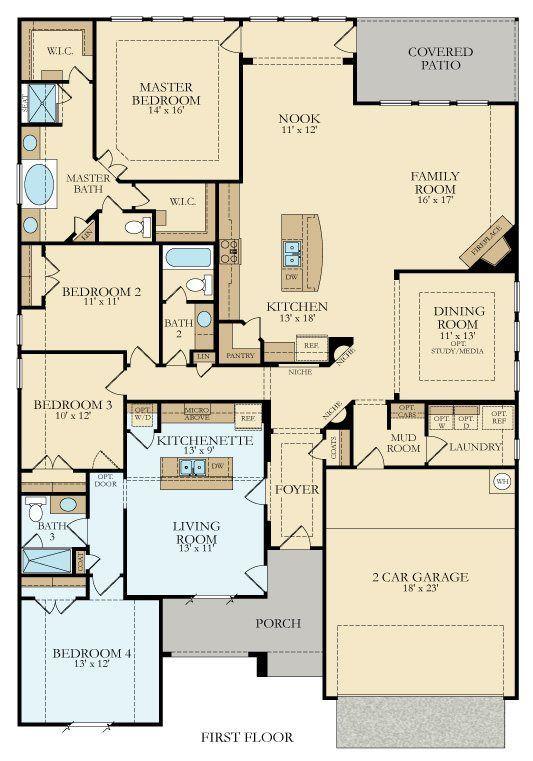 2751 sq ft Genesis New Home Plan in Crown Ridge